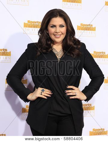 LOS ANGELES - JAN 14:  Hillary Scott at the 50th Sports Illustrated Swimsuit Issue at Dolby Theatre on January 14, 2014 in Los Angeles, CA