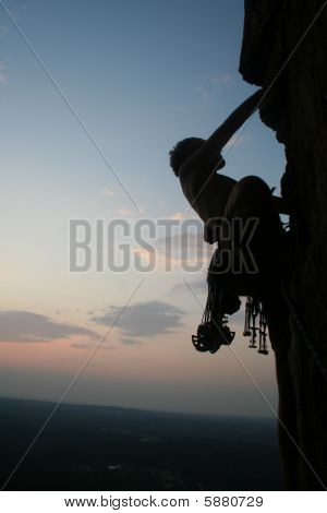 Sunset Rock Climbing