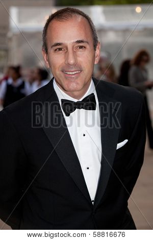NEW YORK - MAY 18: Matt Lauer attends the 69th Annual American Ballet Theatre Spring Gala at The Metropolitan Opera House on May 18, 2009 in New York City.