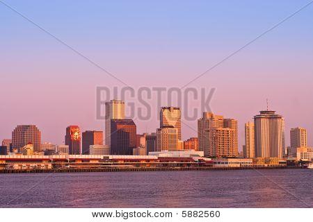 Cityscape: New Orleans Sunrise