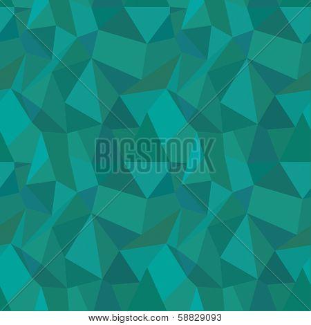 Seamless Geometric Polygonal Pattern, Background