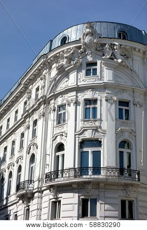 a beautiful, renovated and restored residential building in the city.