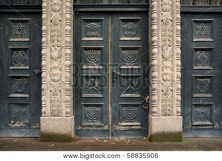 Old Sinagogue of Arad, Romania, Europe
