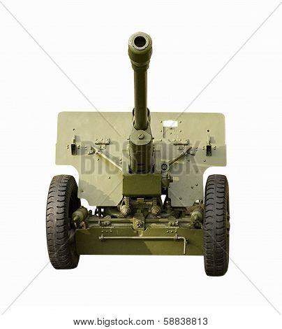 Green Field Artillery Gun