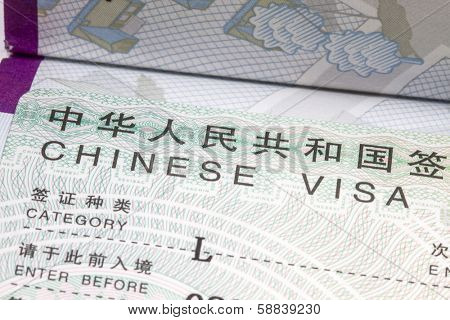 China visa in Sweden Passport