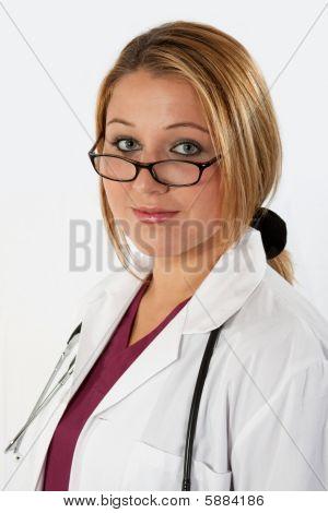 Pretty Lady Doctor