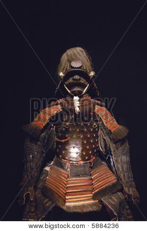 Ancient samurai armour.