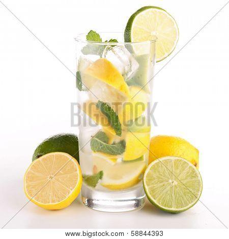 mojito, lemon juice