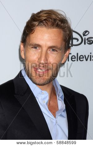 LOS ANGELES - JAN 17:  Brett Tucker at the Disney-ABC Television Group 2014 Winter Press Tour Party Arrivals at The Langham Huntington on January 17, 2014 in Pasadena, CA