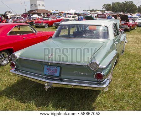 1962 Green Dodge Dart Rear View