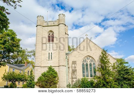 Governors Island, New York: Episcopal Chapel of St. Cornelius
