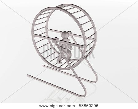 Man In The Squirrel Cage