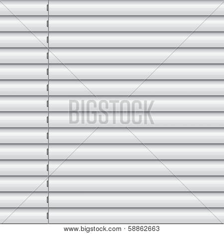 White Window Blinds Shade