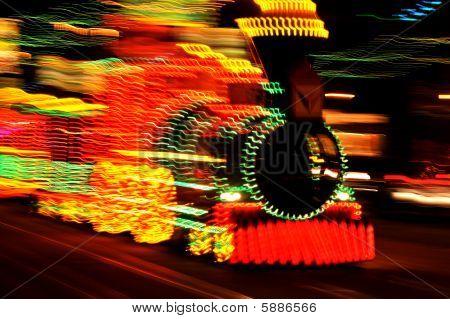 Illuminated Tram