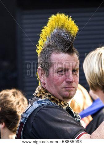 Punk Haircut