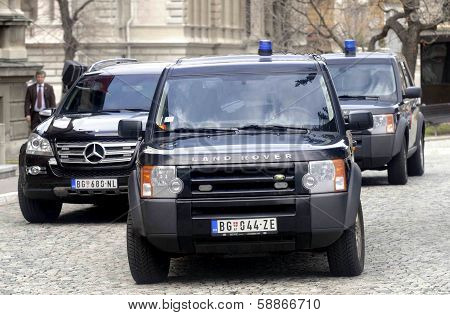 Security motorcade