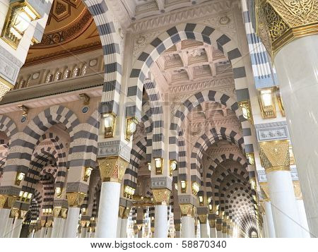 Arch Islamic architecture in Mecca