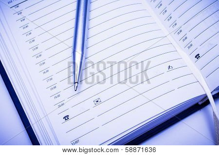 Address Book & Metal Pen