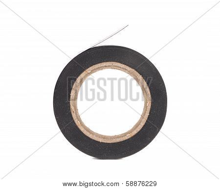 Close up of insulating tape.