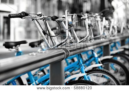 Rent A Blue Bicycle