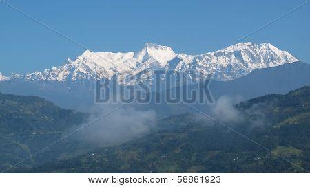 Majestic Annapurna Range