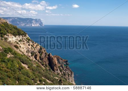 Crimea Foreland At Summer Day