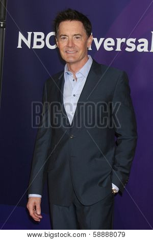 LOS ANGELES - JAN 19:  Kyle MacLachlan at the NBC TCA Winter 2014 Press Tour at Langham Huntington Hotel on January 19, 2014 in Pasadena, CA