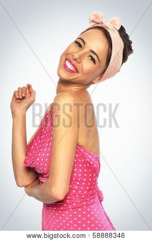 Cheerful Youmg Woman
