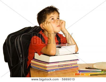 Bored Schoolchild