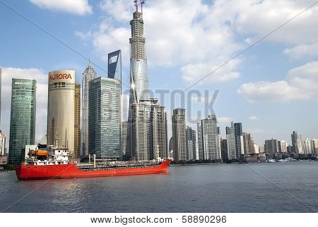 Shanghai View From River