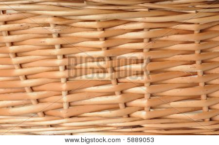 Natural Background. Basket
