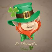 stock photo of leprechaun  - St Patrick - JPG