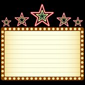 picture of marquee  - Blank movie - JPG