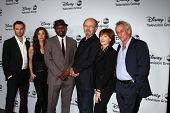 LOS ANGELES - JAN 17: Mark Hildreth, Devin Kelley, Omar Epps, Kurtwood Smith, Frances Fisher, Matt C