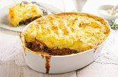 shepherd's pie with minces meat