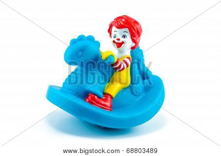 Toddler Ronald Toy Dragon Riding