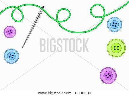 Vector needlework background