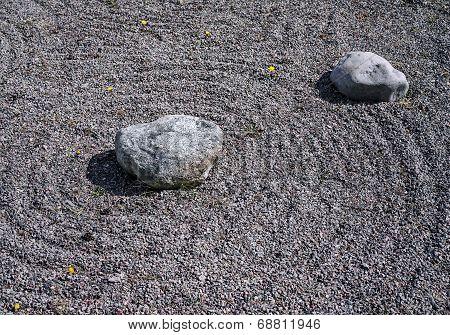 Feng Shui Garden Zen Stones