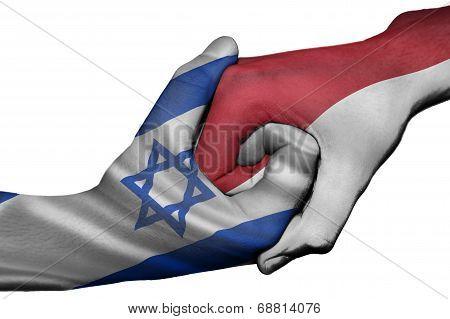 Handshake Between Israel And Indonesia