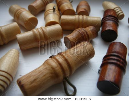 Wooden Toggle Buttons