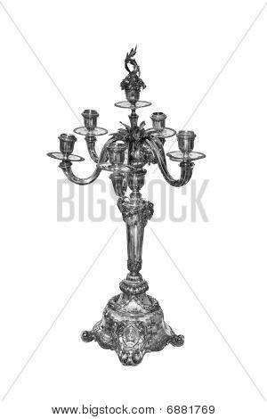 Silver Candleholder