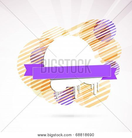 modern disco flyer