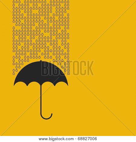 umbrella icon. vector illustration eps8