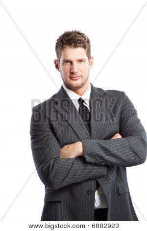 Caucasian Businessman