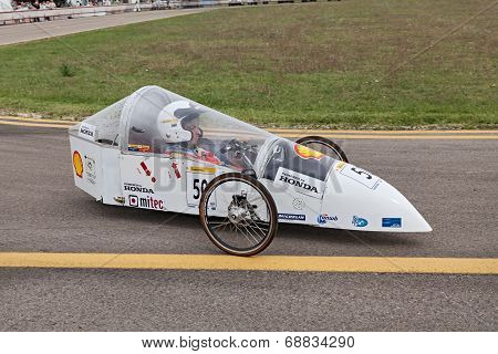 Prototype High Fuel Efficiency Vehicle