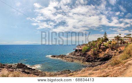 Coast of the Atlantic Ocean, Tenerife, Spain
