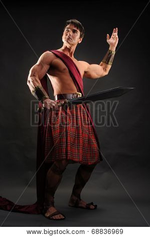 handsome highlander
