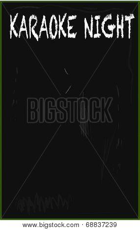 Karaoke Blackboard