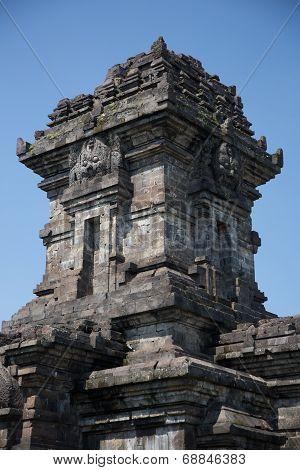 Candi Singosari temple in Java island, Indonesia