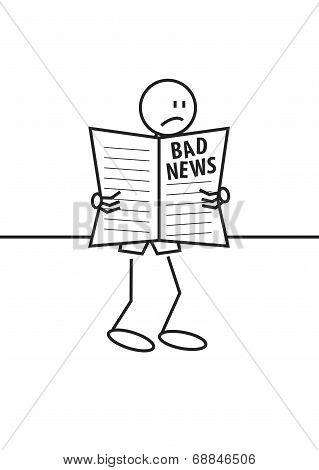 Stick Figure Bad News